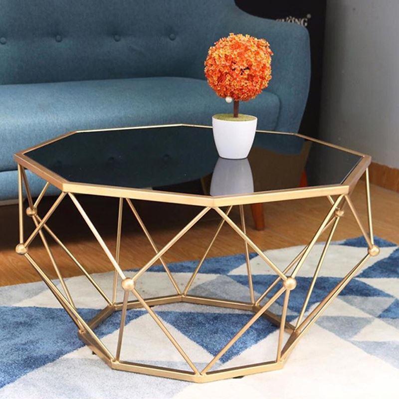 bàn mặt kính sofa