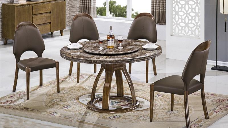 cách chọn bàn ăn tròn xoay