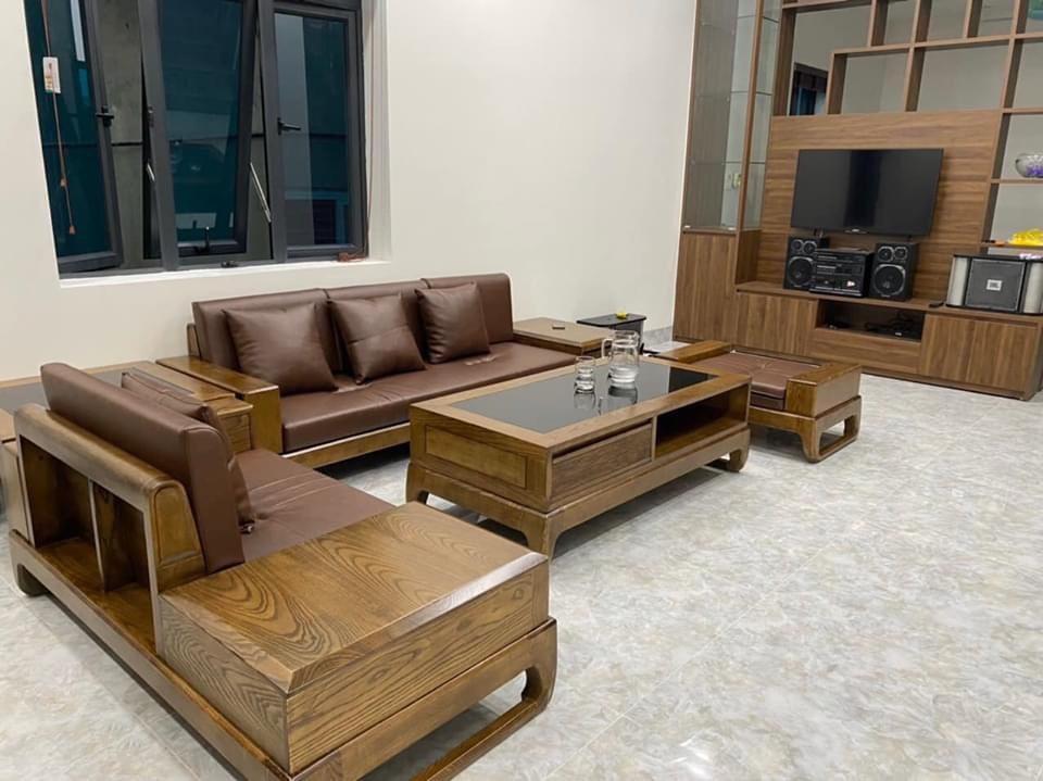 ghế sofa gỗ sồi nga
