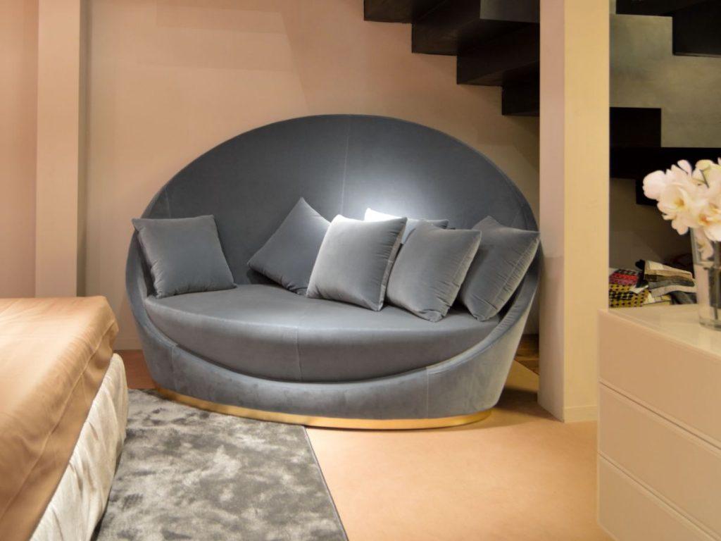 ghế sofa tròn hiện đại