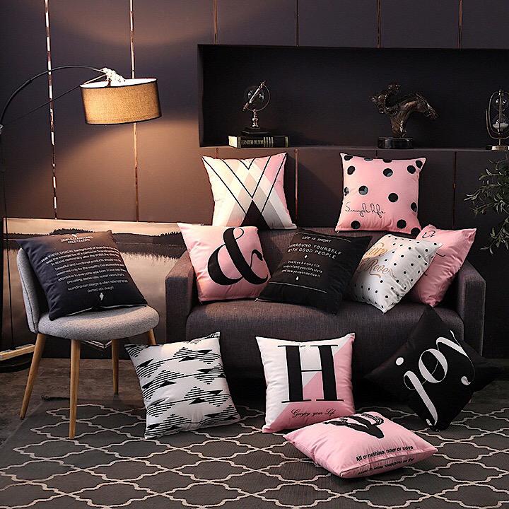 may vỏ gối sofa