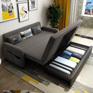 Nệm gấp Sofa – Đồ nội thất đa di năng tối ưu diện tích căn hộ nhỏ