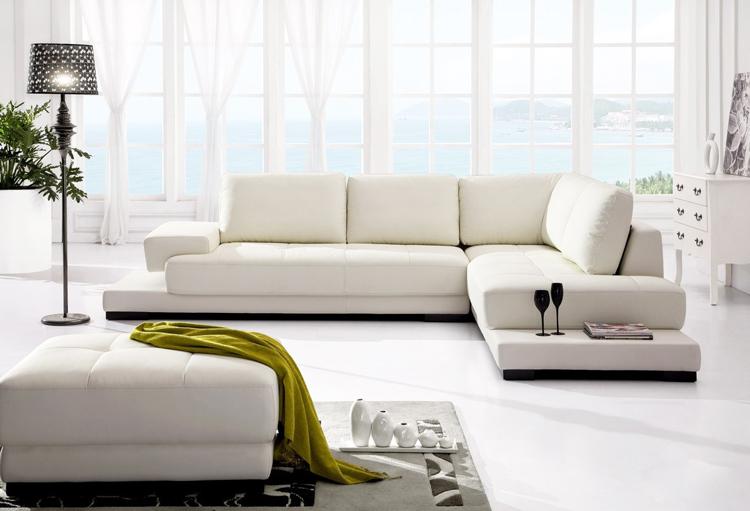 sofa chân inox dáng thấp