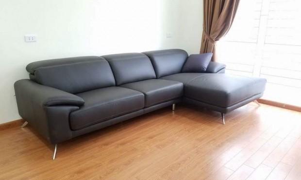 sofa chân inox