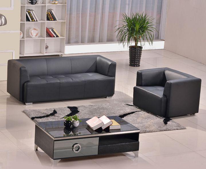 sofa da cho văn phòng nhỏ