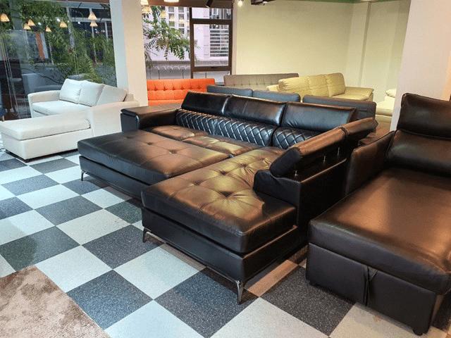 sofa da giường