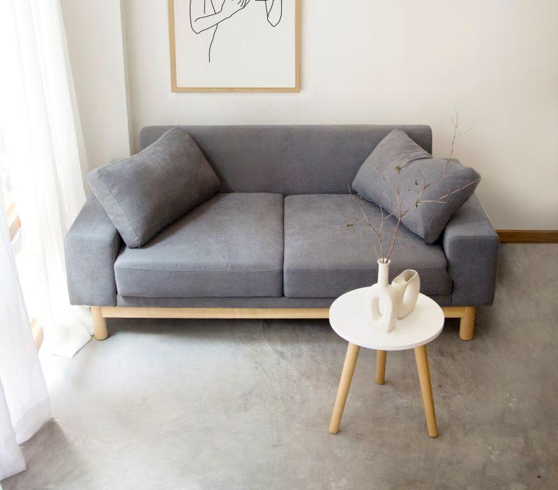 sofa đôi vải nỉ