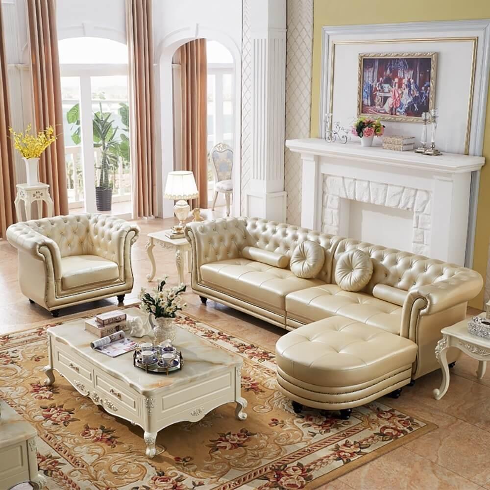 sofa vintage hoàng gia