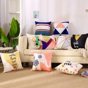 4 Bước đơn giản tự may vỏ gối sofa tại nhà đẹp và độc đáo