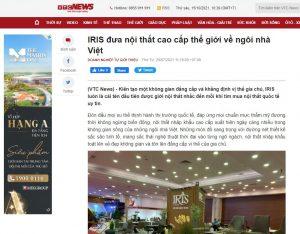 (VTC News) – IRIS đưa nội thất cao cấp thế giới về ngôi nhà Việt