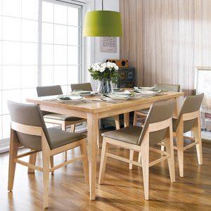 Những điều cần biết trước khi chọn mua bàn ăn gia đình bằng gỗ