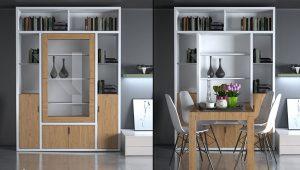 Xu hướng bàn ăn thông minh cho nhà chung cư HOT nhất hiện nay