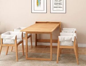 Tổng hợp những điều bạn cần biết trước khi chọn mua bàn ăn treo tường