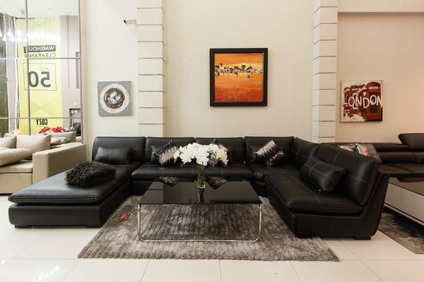 màu sắc thảm sofa