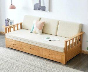 Có nên chọn sofa bed gỗ cho không gian căn hộ nhỏ?