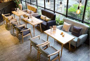 Sofa cafe: Những tiêu chí quan trọng bạn cần biết giúp không gian quán đẹp như ý