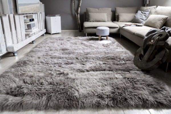 thảm lông sofa