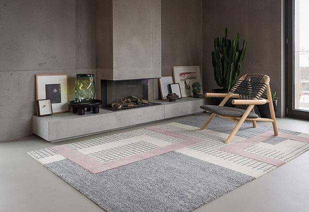 thảm sofa họa tiết